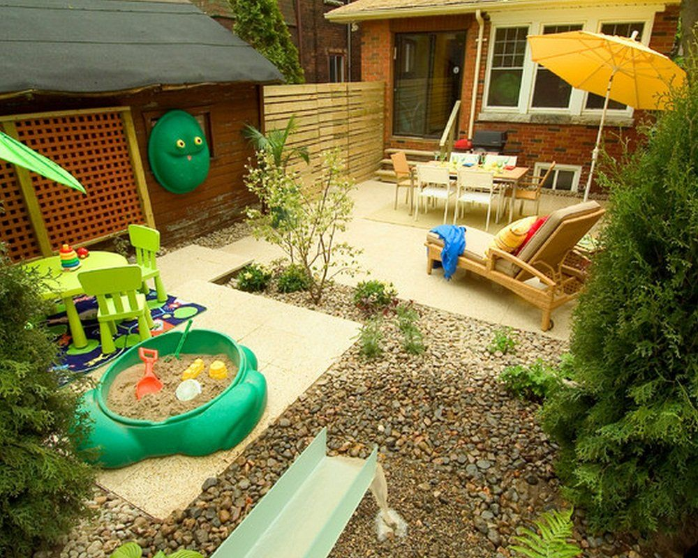 kids space, adult space | small backyard ideas | Project 768 ...