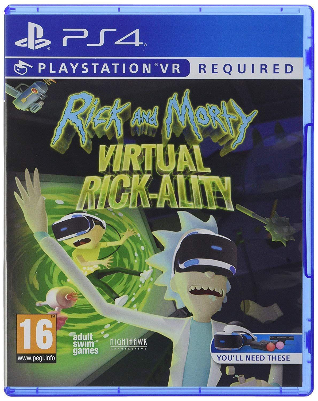 Rick and Morty Virtual RickAlity Review (PS4) Rick
