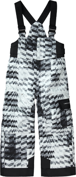 8736e7958 Obermeyer Boy's Volt Print Insulated Bib Snow Pants - Toddler Boys'/Boys'  Gray Coat Of Arms 8