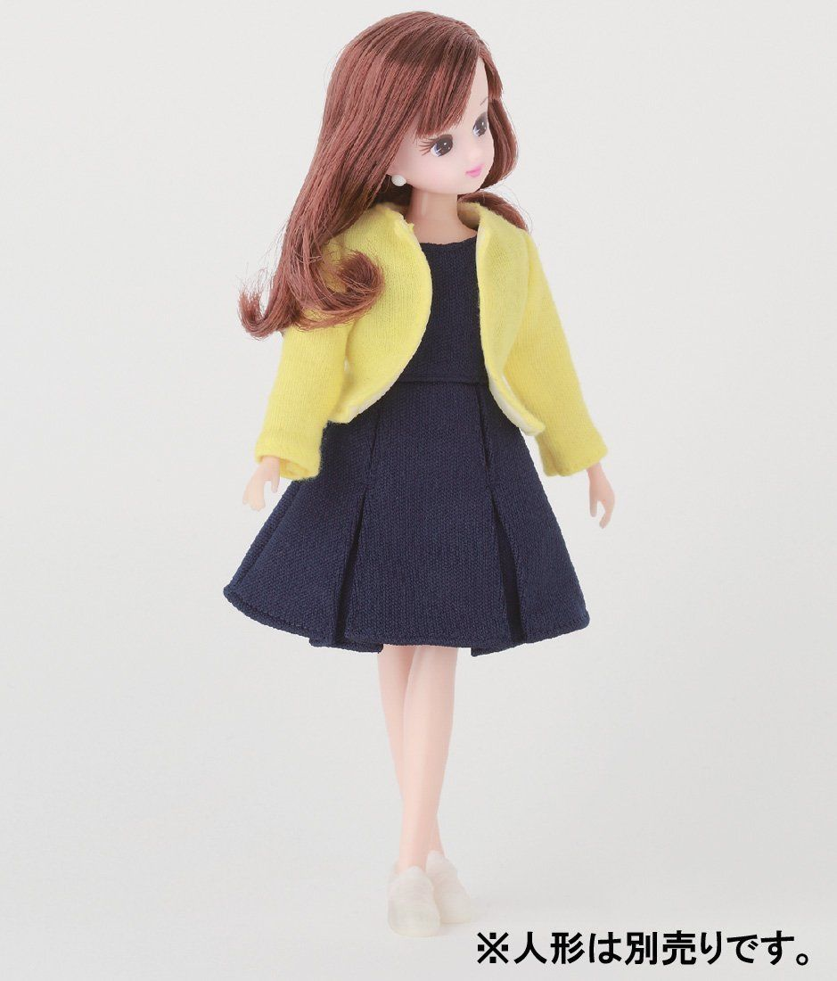 Licca Chan Doll Clothes Navy One Piece RARE Japan Import Takara Tomy Wear Outfit | eBay