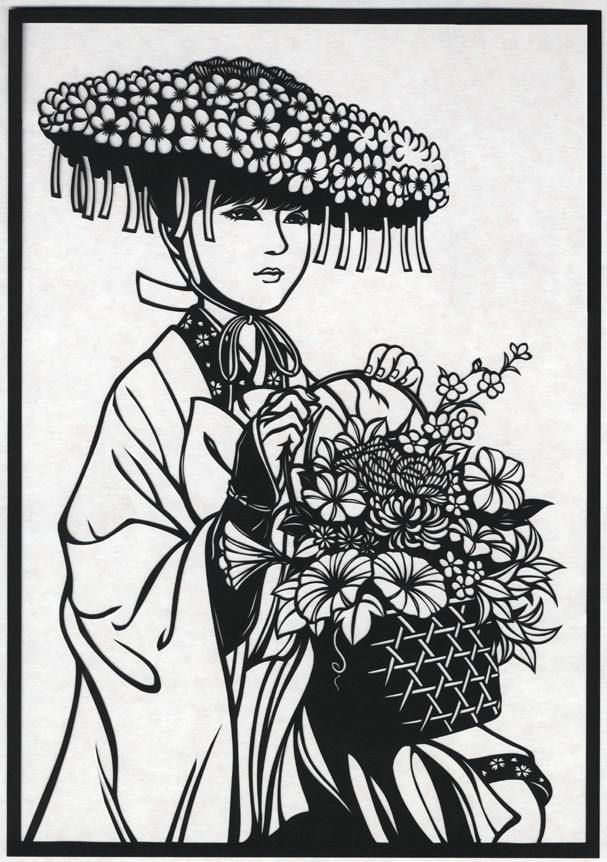 Mochime Paper-cutting Artist