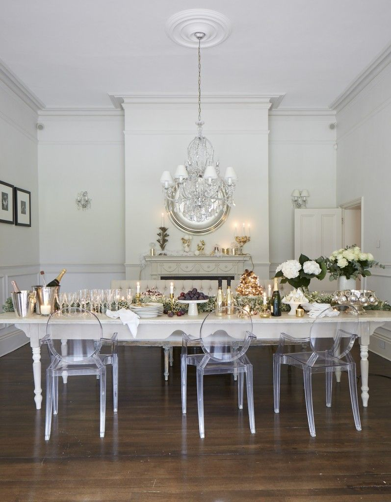 Celebrations With The Victoria Ghost Chair From Kartell Source