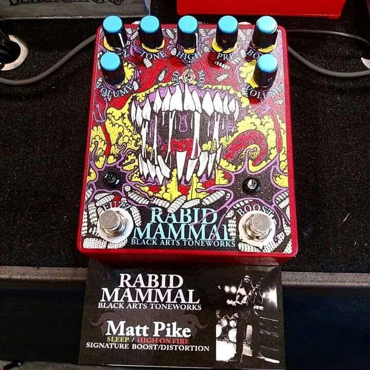 Black Arts Tone Pedal Rabid Mammal Guitar Pedals Black Arts