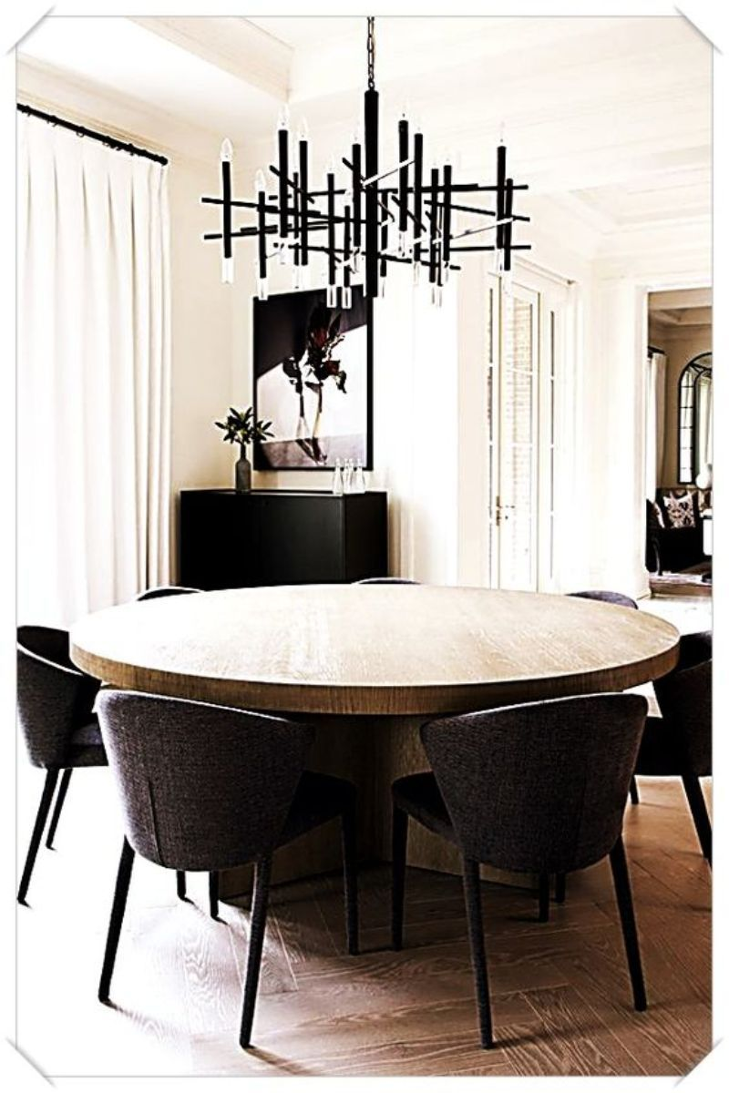 10 Round Dining Tables To Create A Cozy And Modern Decor Grey