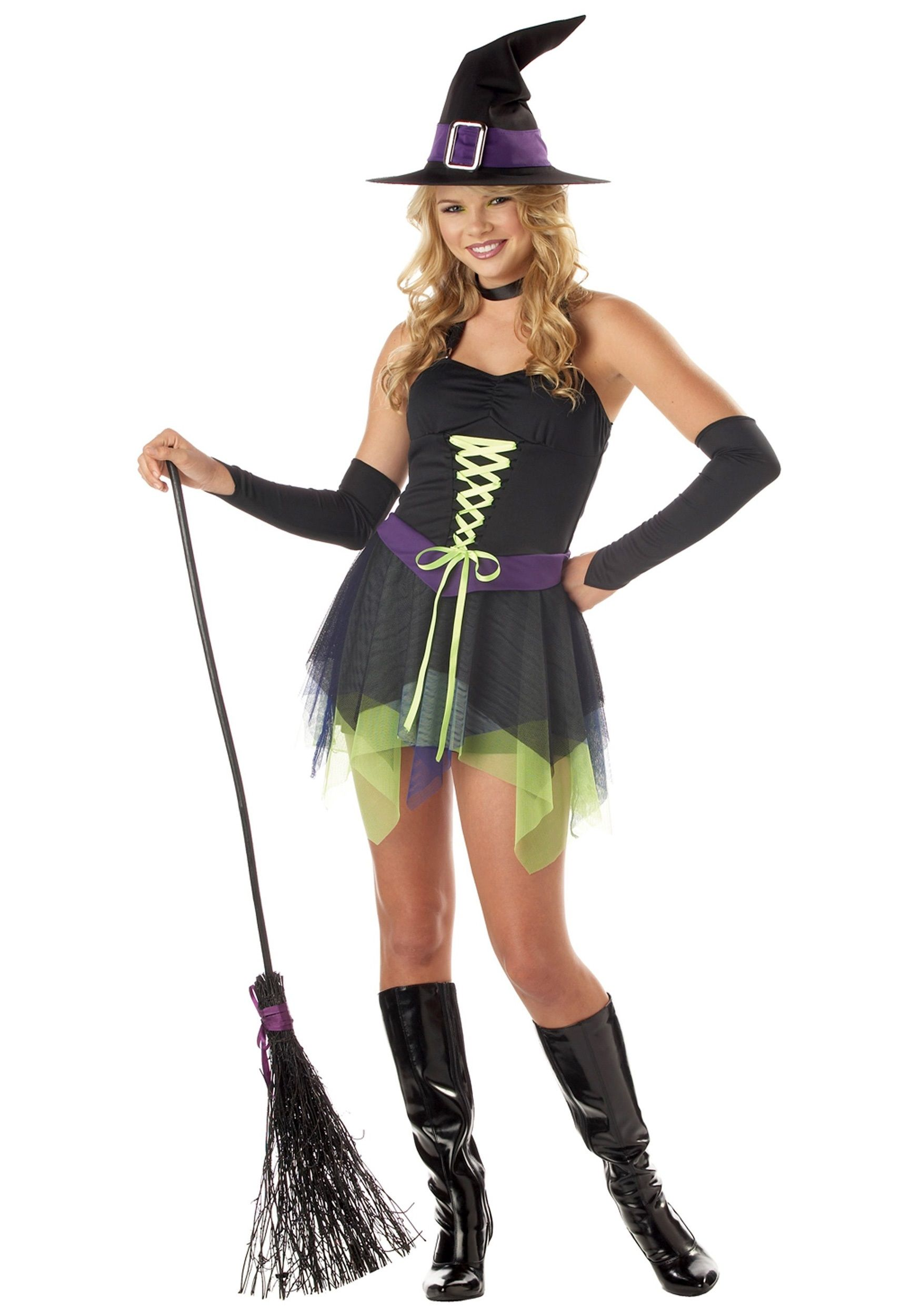 halloween costumes for teenage girls | Teen Girls Whimsical Witch ...