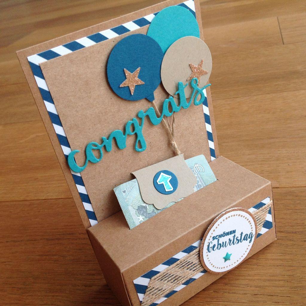 Geldgeschenk – neue Verpackungsidee
