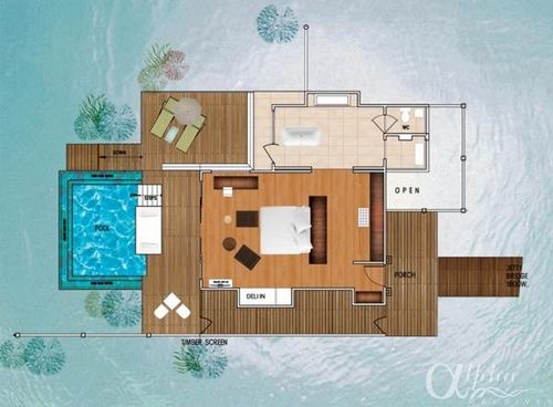 maldives beach bungalow design house floor plans | water-studios-with-private-pool_1145 | Niyama Resort ...