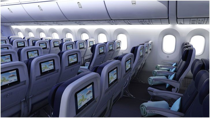 Jetairfly dreamliner for Interieur avion ryanair