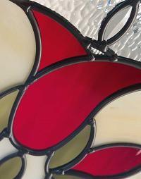 ODL Bellflower Decorative Door Glass