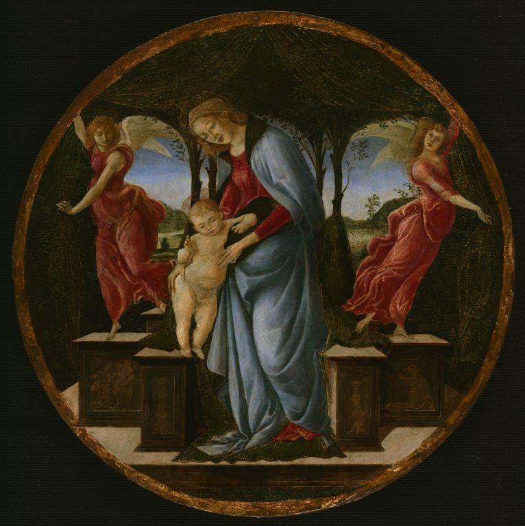Sandro Botticelli - Madonna col Bambino - Art Istitute Chicago