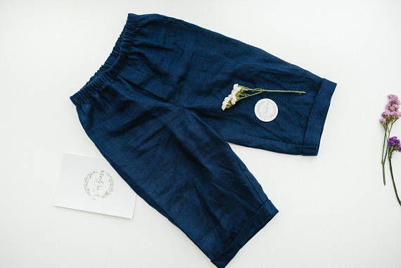 Linen Baby Suit Linen Baby Pants Linen Baby T Shirt Linen Baby