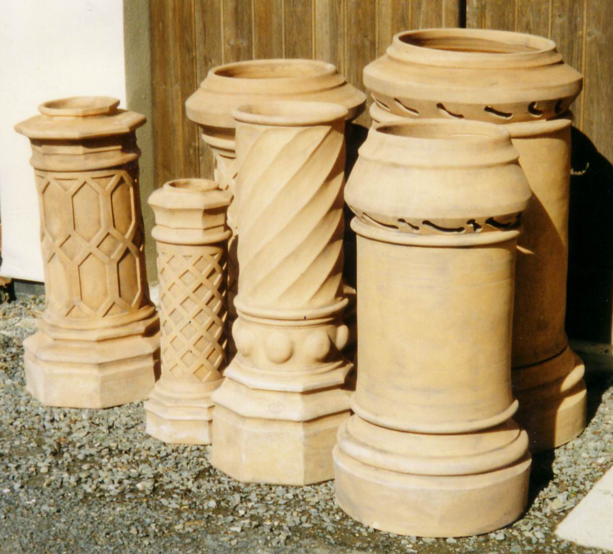 Clay Chimney Pots Cupolas Chimney Pots And Weather