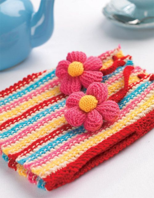 Colourful Teacosy | crochet | Pinterest