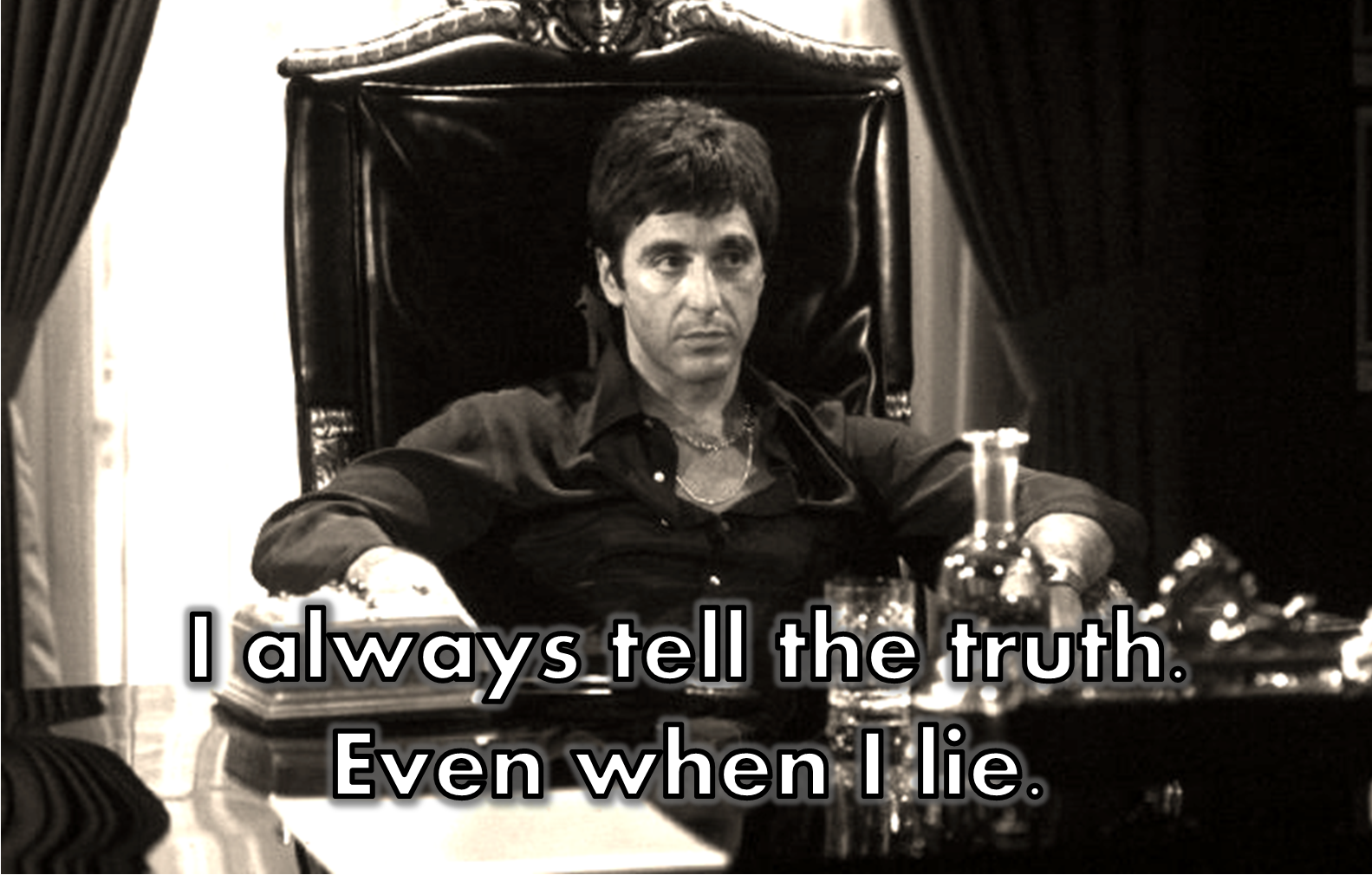Scarface Al Pacino Quotes Me Scarface Quotes Godfather Quotes