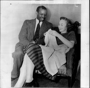 1949 Khama Seretse King - Queen Ruth - Africa Press Photo
