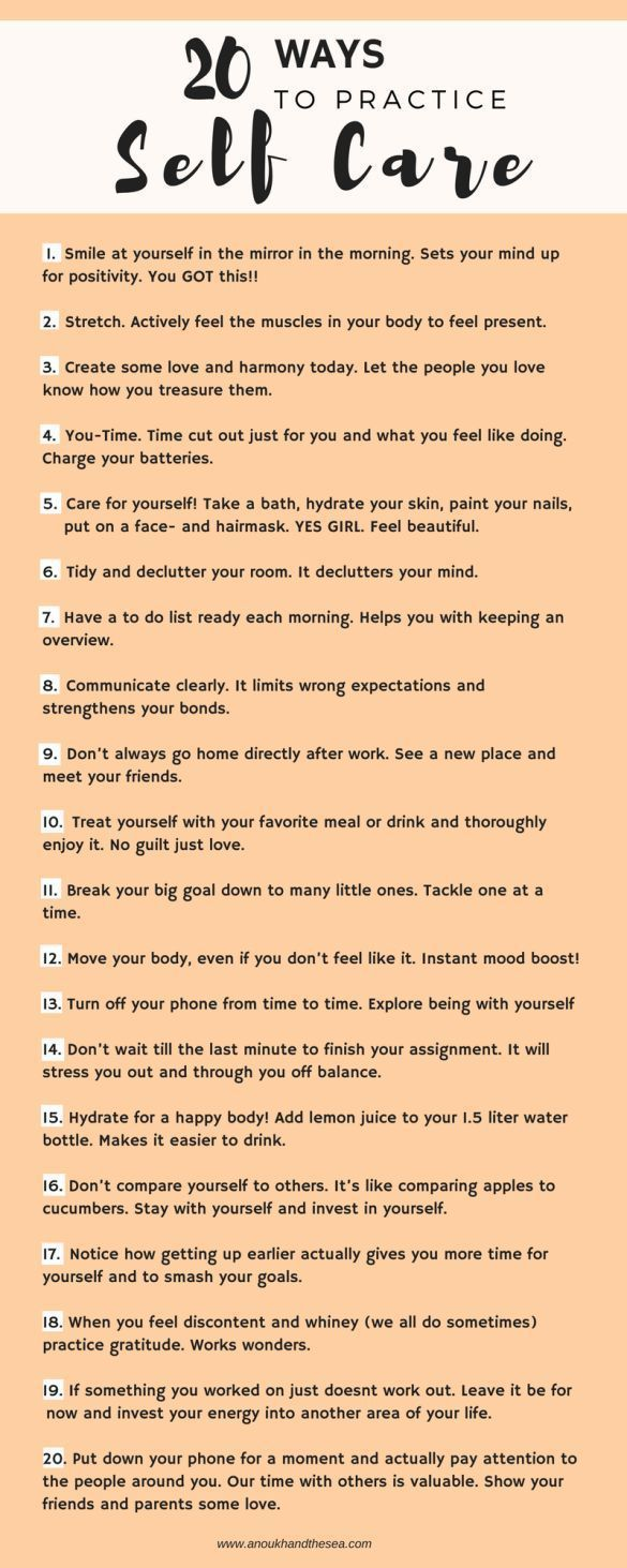 20 Powerful Ways To Practice Self Care | Exploration Happiness