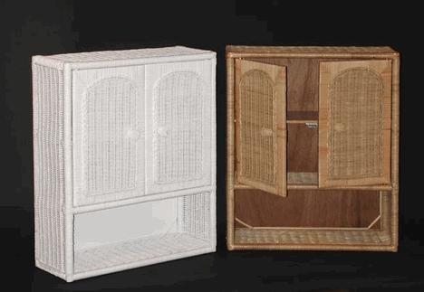 Wicker Medicine Cabinet Bathroom Wicker Wicker Bathroom Furniture Wicker Furniture Outdoor Wicker Furniture