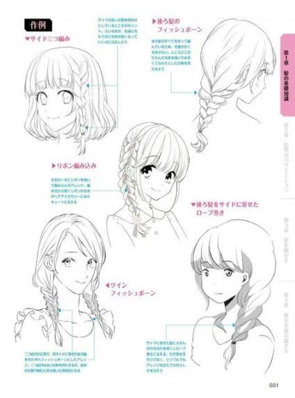 Photo of 49 trendy hair drawing realistic braid