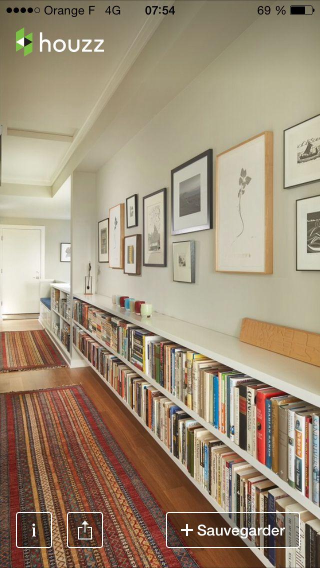 Corridoio arredamento d 39 interni pinterest librerie ingresso e arredamento - Arredamento d interni idee ...