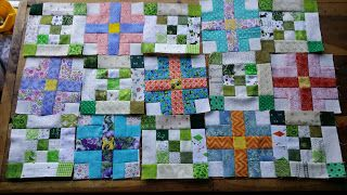 Gramma's Quilting Room: Design Wall Monday