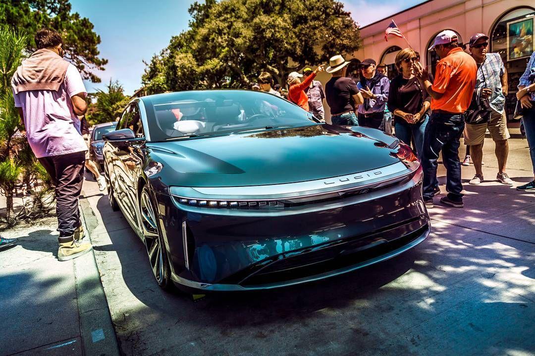 @lucidmotors at #pebblebeach . . . #lucidair #lucidmotors #car #conceptcar #electric #electriccar #luxury #sportcar #prototype #pebblebeach2017 #oneoff #instacar #carmelbythesea #california #usa #unitedstates #america #instatrip #roadtrip #summertrip #instacar #bestoftheday #picoftheday