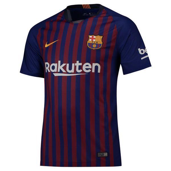 a8ef33ca6e22c Venta Camisetas Tailandia Casa Camiseta Barcelona 2018 2019 Azul Rojo €20.00