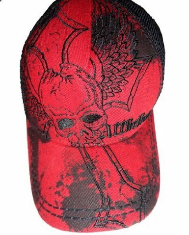 a2256fa7 Men's Affliction Hat Baseball Cap Crux Trucker Red: Amazon.co.uk: Amazon.co. uk:
