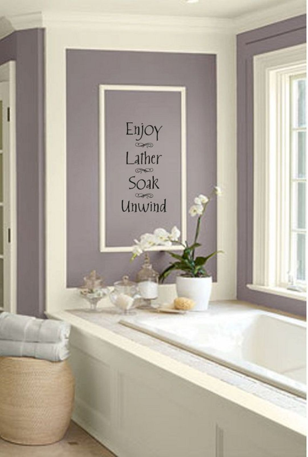 Elegant Bathroom Wall Decor in 7  Elegant bathroom, Bathroom