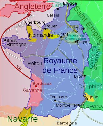 carte france angleterre