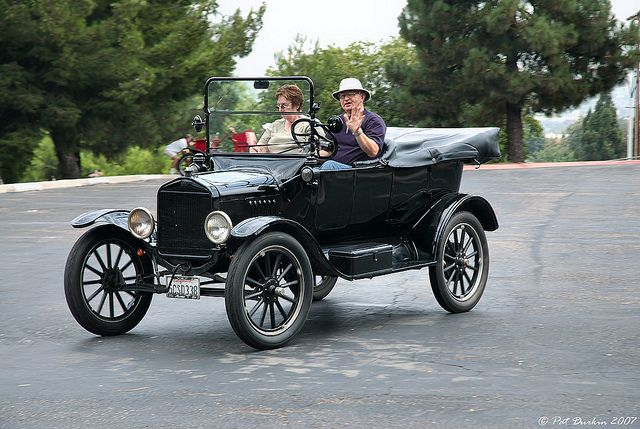1920 Ford Model T Touring Car Black Fvl Ford Models Vintage