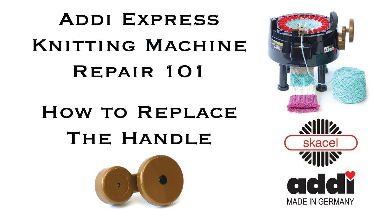 Addi sustituto manivela para addiexpress máquinas de punto 8994