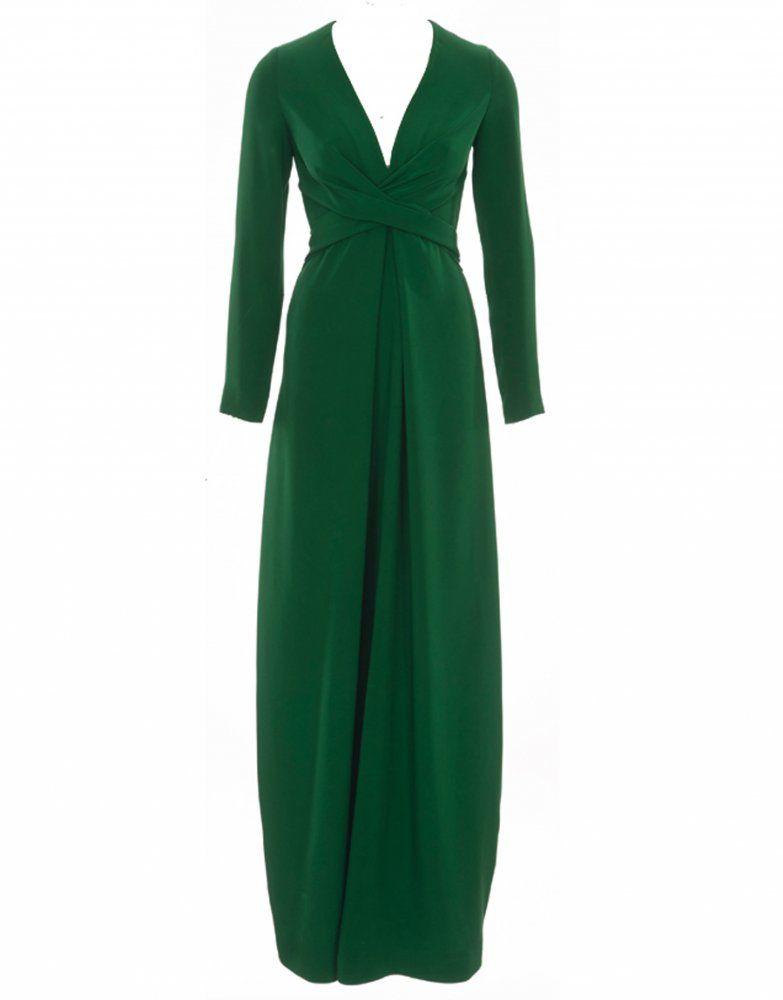 Šaty vévodkyně s dlouhým rukávem a zauzleným živůtkem  5ad0c35ed8