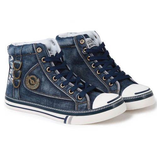 Sneakers Homme Luxe Fashion Basket Hype Style converse Jean