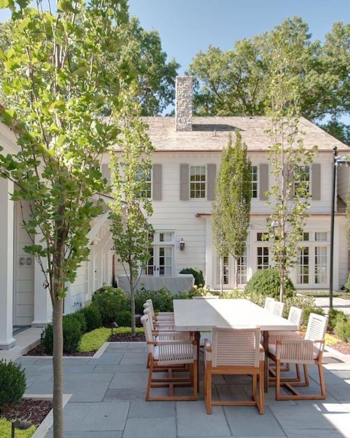 June Pinterest Top 10becki Owens Terraced Landscaping Backyard House Exterior