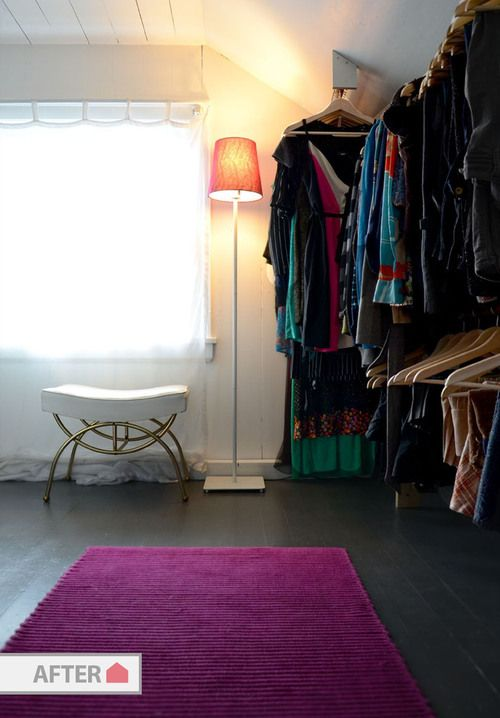 empty walk in closet. Before {and} After: Empty Room Turned Walk-In Closet \u2014 Old House Walk In
