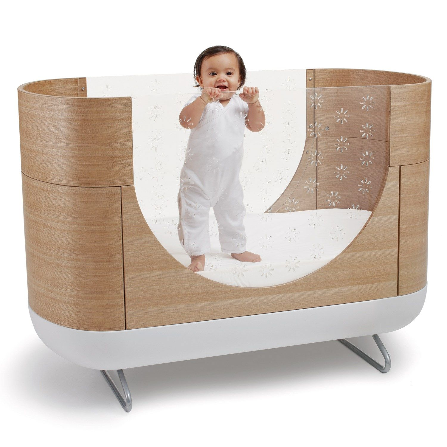 cool tone nursery walnut of cribs baby and ideas mod size bedding interesting u modern designer wooden for bed letto s beds uk furniture convertible modena two full crib in