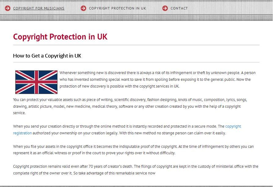 How To Get Copyright Protection In Uk Uk Copyright Protection
