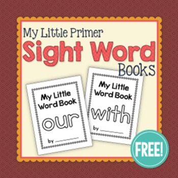 Ridiculous image regarding free printable sight word books for first grade