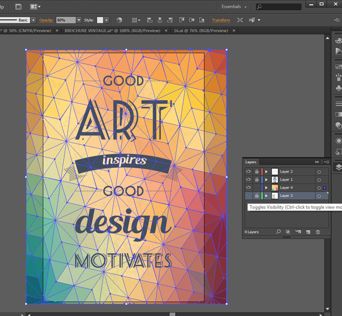 creating a vintage typographic poster design in adobe illustrator typographic poster adobe