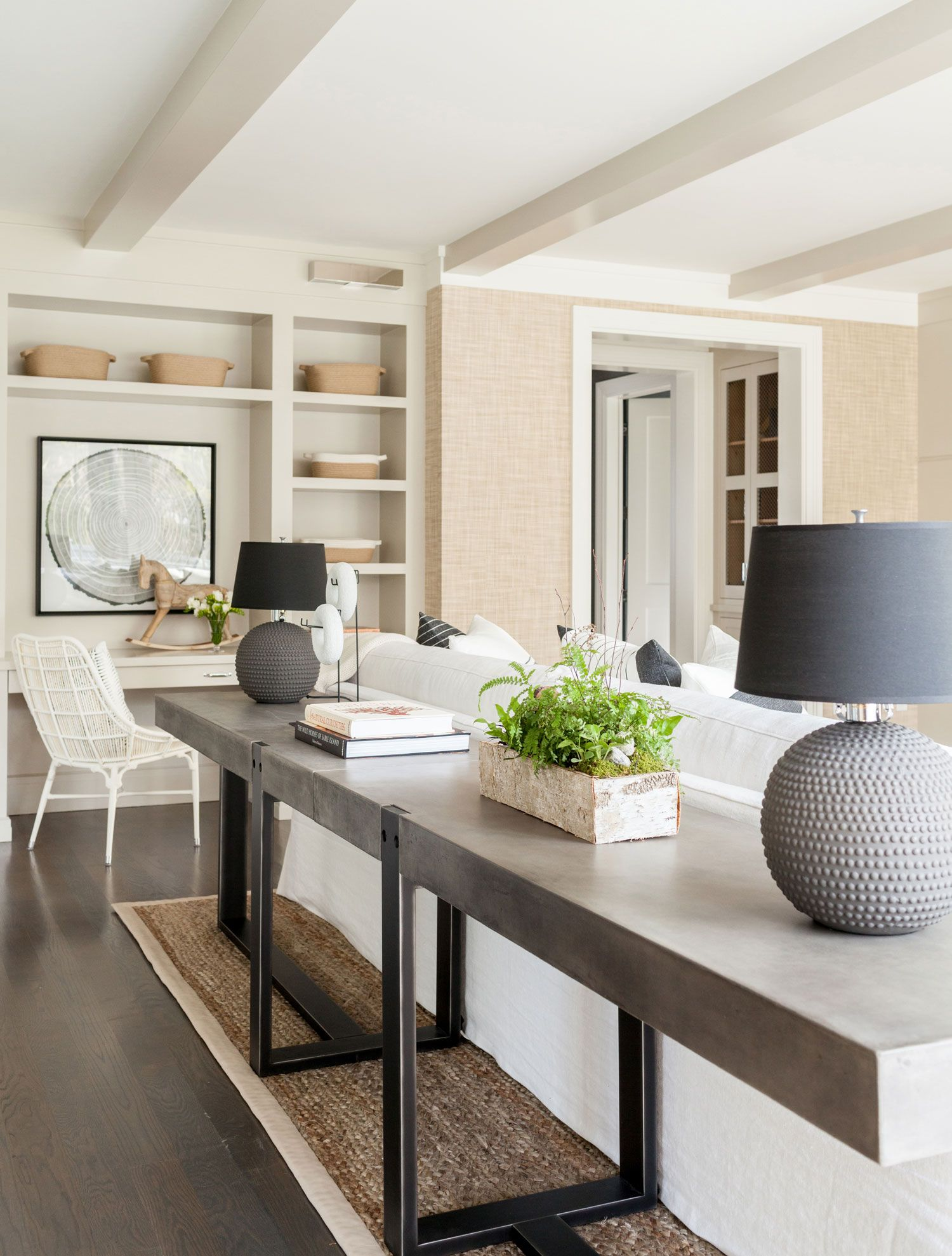 Westport Modern Farmhouse | Modern farmhouse living room ...
