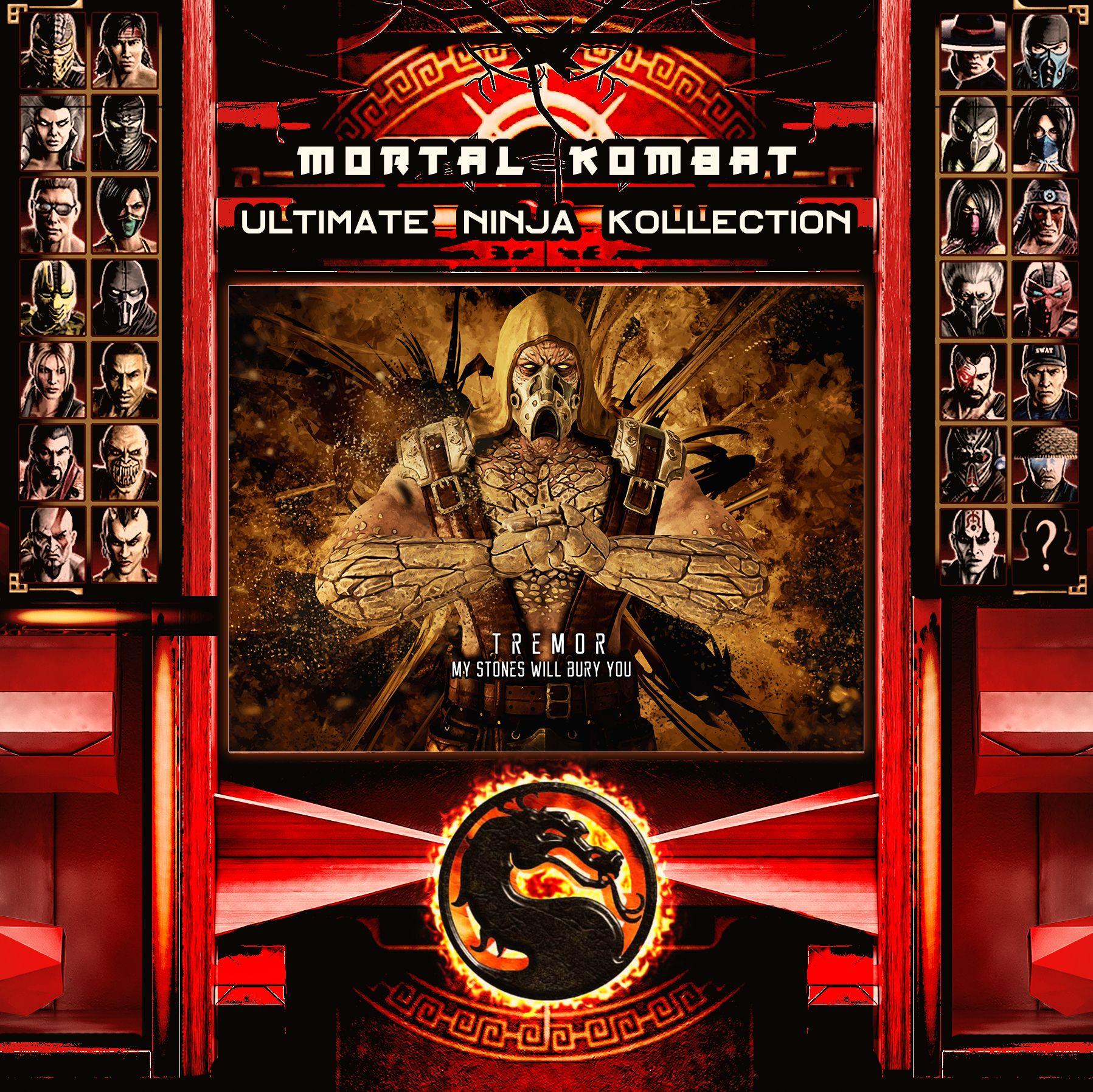 Mortal Kombat Ninja Metal Prints