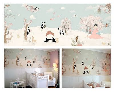 Very Cool Nursery Kids Wallpaper Kidsrooms Kidswallpaper
