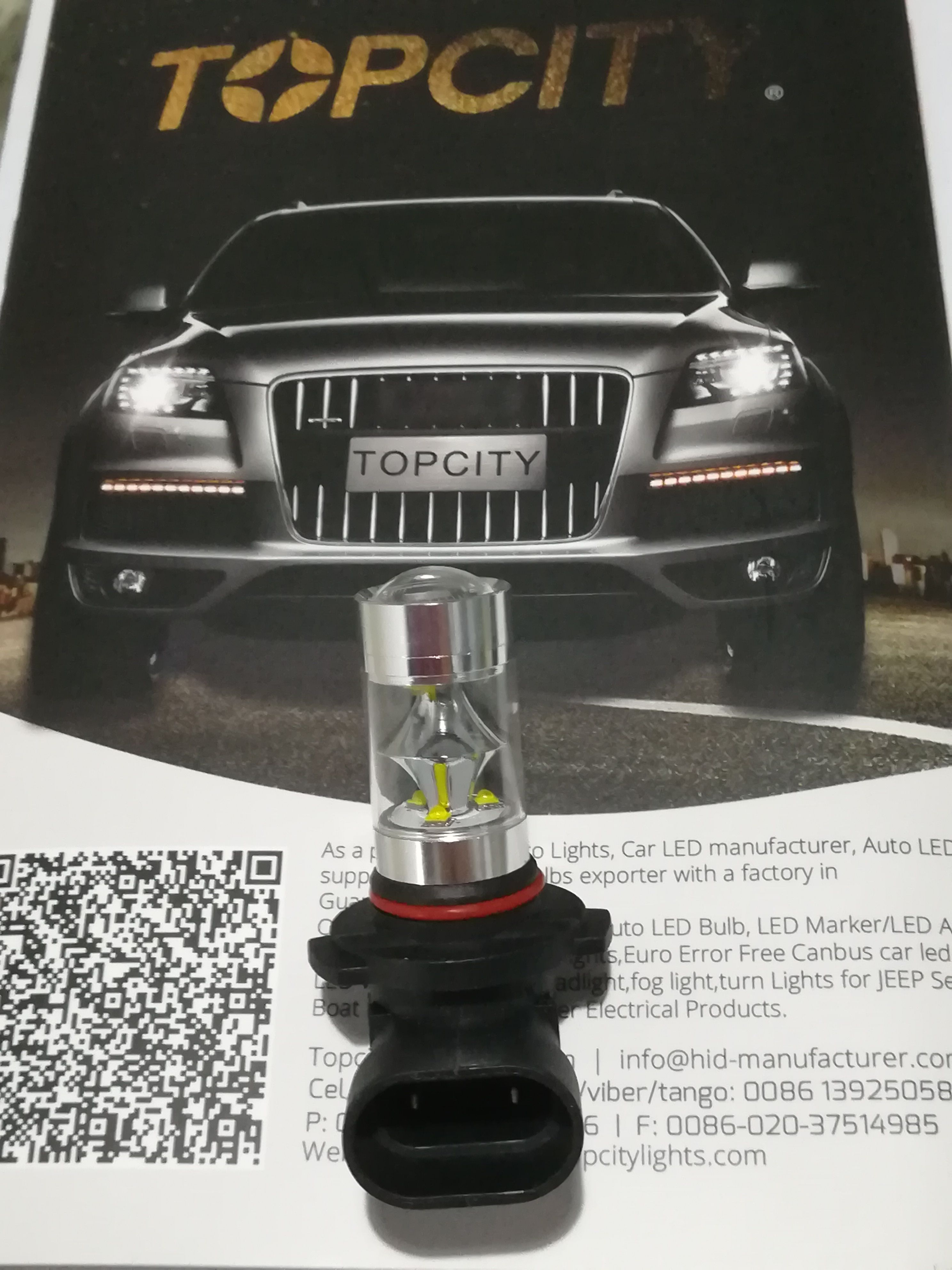 Topcity Fog Light For Europe Cars And Japan Cars Led Bulb For Auto