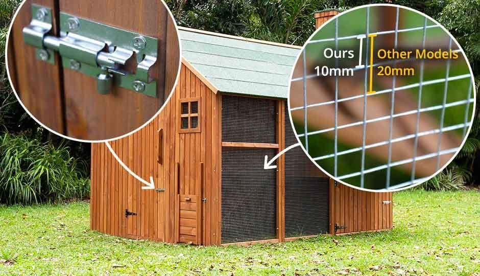 The Mansion™ Coop $1849 | Walk in chicken coop, Chicken ...