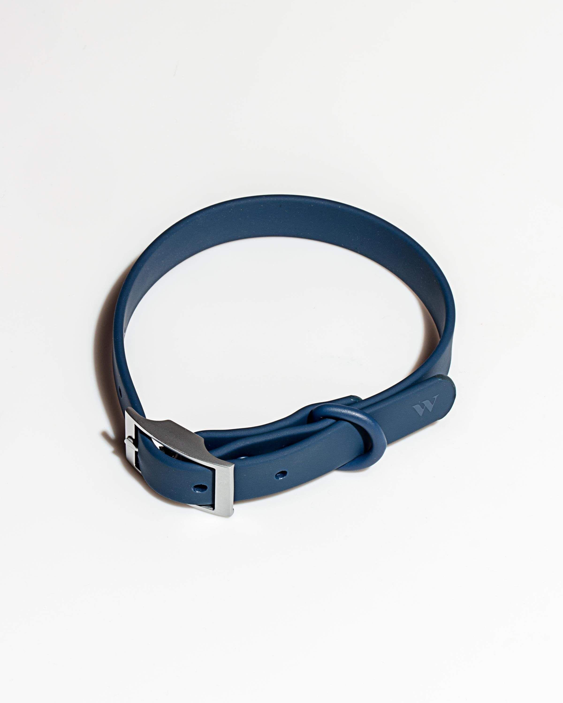 Durable Dog Collar, Navy / L in 2020 Mini pinscher, Wild