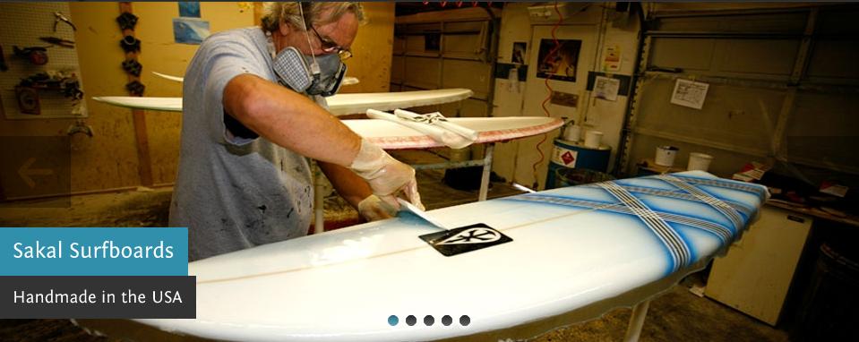 Ed Sakal Shaping A Thruster Surfboard Handmade Bags