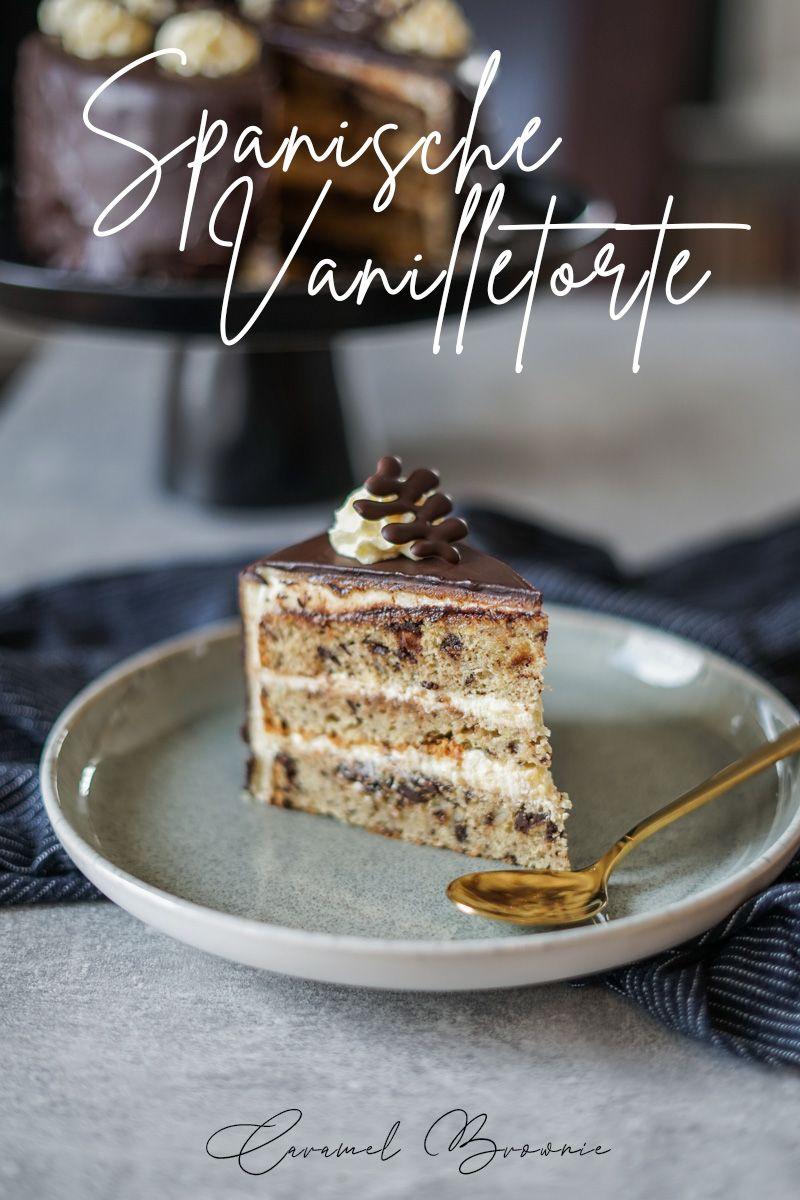 Spanische Vanilletorte Vanille Zimt Food Blog Rezepte Spanische Vanilletorte Kuchen Und Torten Rezepte Kuchen Und Torten