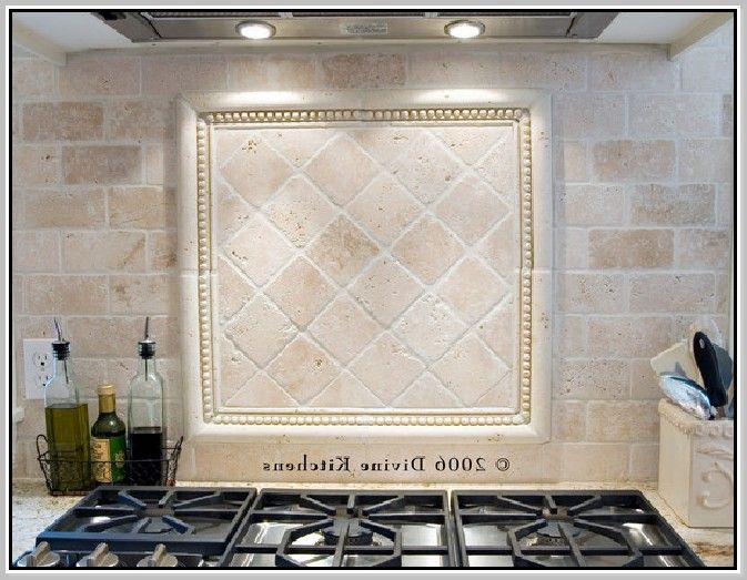 Tumbled Travertine Backsplash Ideas Part - 19: Tumbled Travertine Backsplash | Home Design Ideas
