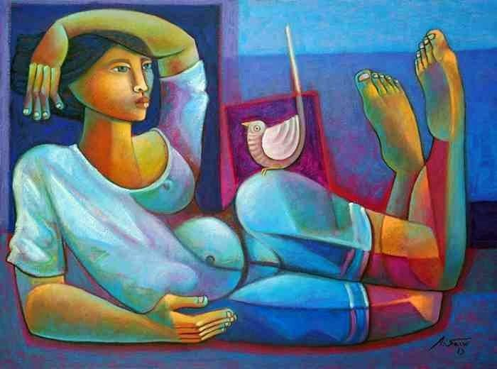 Fabulous Paintings by Brazilian Contemporary Artist Adelio ... - photo#3