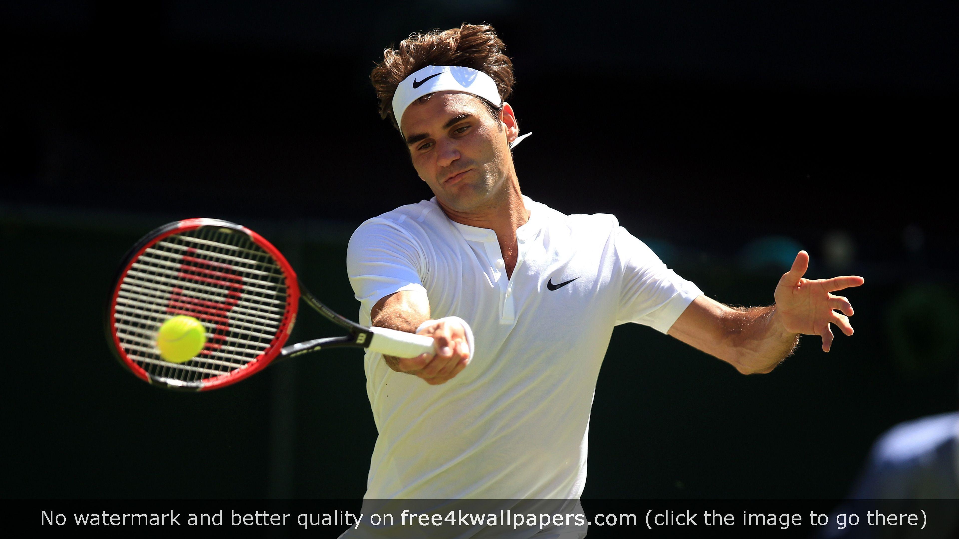 Roger Federer 4k 4k Wallpaper Roger Federer Tennis Lessons Tennis Videos